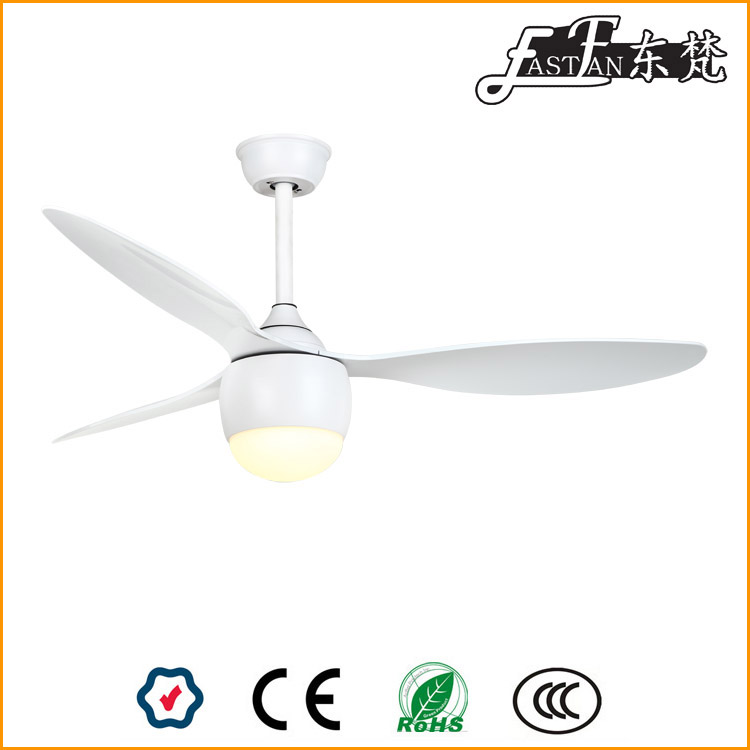 Proud Ef52152a Modern White Ceiling Fan With Light And Remote Ceiling Fan