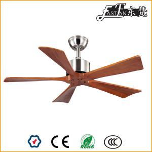 Quạt trần gỗ  42 inch hiện đại không đèn.