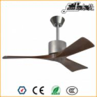 modern living room natural wood ceiling fan