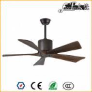 5 blade timber blade ceiling fan no light