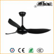 46 inch bedroom black ceiling fans with lights
