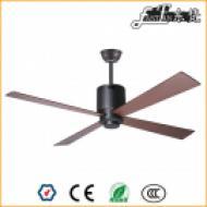 4 blade living room black ceiling fans
