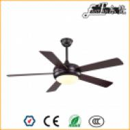 5 blade black ceiling fan light and remote