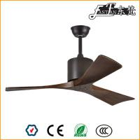 42in living room natural wood ceiling fan on light
