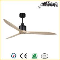 52 natural wood ceiling fan with remote