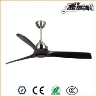 modern timber blade restaurant ceiling fan