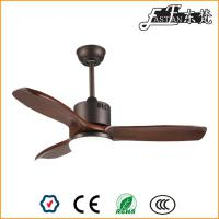 52in timber blade orb ceiling fan with light