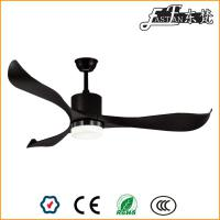 52 inch bedroom black ceiling fan with light